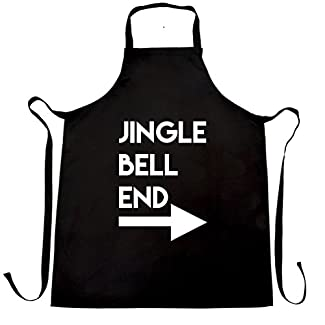 Jingle Bell End Christmas Apron