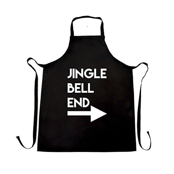 Jingle Bell End Christmas Apron