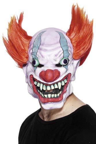 Maske mit Haaren, One Size, Bunt, 26473 ()