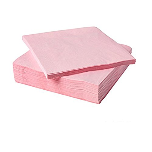 IKEA FANTASTISK Papierservietten hellrosa