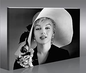Marilyn Monroe V7-1p Tableau sur Toile Poster Tableaux Images Impression Artistique