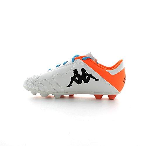Scarpe da calcio uomo / bambino KAPPA suola in gomma logo in vista 302ahs0 Bianco