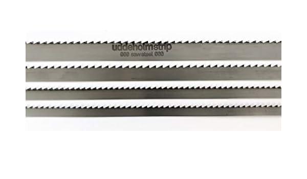 Bands/ägebl/ätter Mischpaket geh/ärtete Zahnspitzen 6//10//15 2240mm x 0,4mm