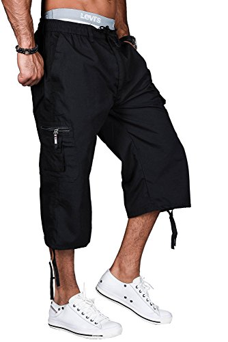 Golden Brands Selection -  Pantaloncini  - Basic - Uomo Nero