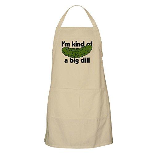 CafePress – I'm Kind A Big Dill – Küchenschürze, Taschen, Grillschürze, Backschürze Khaki