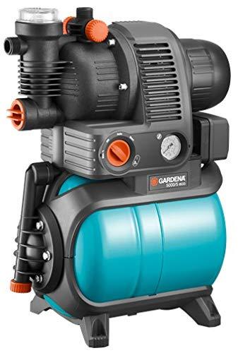 Gardena 01755-61 Hauswasserwerk 5000/5 eco, 1100 W, türkis, schwarz, Orange