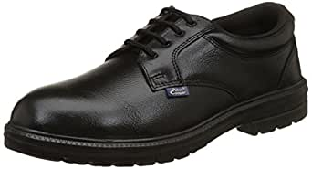 Allen Cooper AC-1469 Executive Safety Shoe, DIP-PU Sole, Black, Size 8