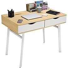 Mesas de ordenador metalicas for Mesas de escritorio amazon