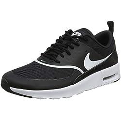 Nike Air Max Thea, Chaussures de Running Femme, Noir (Black/White 028), 38.5 EU