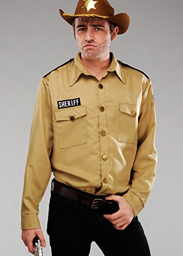 The Walking Dead Mens Rick Stil Sheriff Shirt -