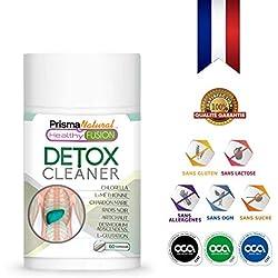 DETOX - Chardon-Marie + Radis noir + Artichaut pur - Drainant et dépuratif - Élimine les toxines et les impuretés - Stimule la fonction digestive - Contrôle le cholestérol - 60 Capsules.