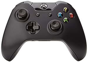 Manette sans fil pour Xbox One - noire + Play & Charge Kit pour Xbox One