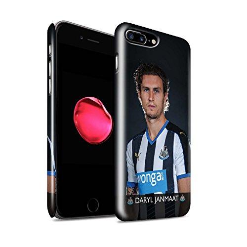 Offiziell Newcastle United FC Hülle / Glanz Snap-On Case für Apple iPhone 7 Plus / Sissoko Muster / NUFC Fussballspieler 15/16 Kollektion Janmaat