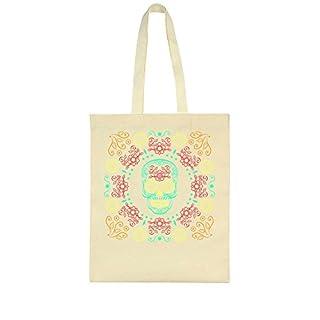 idcommerce Ornament Of Many Colorful Skulls Tote Bag