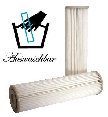 Filter Membran PP (Polypropylene) Sediment 1µm -Auswaschbar- auch für OSMOSE UMKEHROSMOSE WASSERFILTER SEDIMENTFILTER -