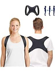 SUNNEY Haltungskorrektur, Geradehalter zur Schultergurt Rückenstütze und Schulter Haltungskorrektur Linderung von Rückenschmerzen, Verstellbare Haltungskorrektur Rücken Damen und Herren