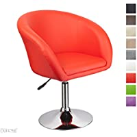 Amazon Rouge Fauteuils Fauteuils et chaises Cuisine & Maison