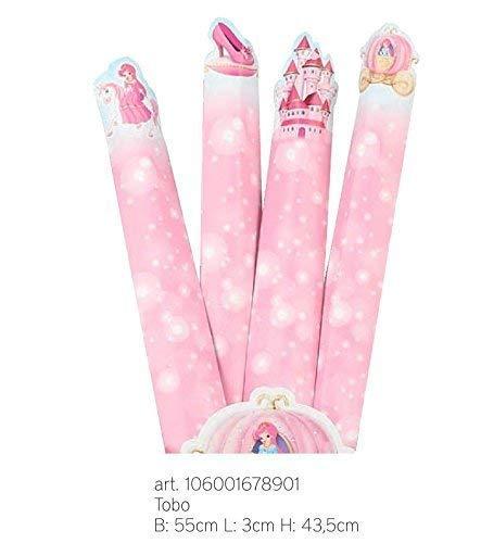 party Princesses 5 Stück Rohr aus 43.5 cm für Bonbons Süßigkeiten Marshmallow Made in Italy