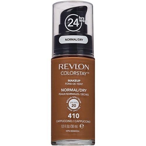Revlon Colorstay Fond de teint fluide Peaux sèches N.410 Cappuccino