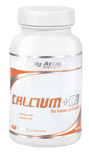 #Body Attack Calcium+D3, 100 Tabletten, 1er Pack (1x 170g), Dose#