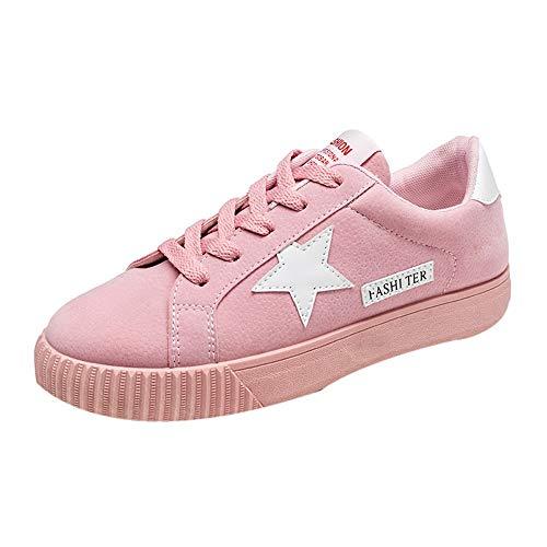 ZODOF Botas Exquisitas Zapatos de Punta Cuadrada de Color sólido para  Mujeres Slip On Low Heel 2edb0a40346c