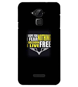 COOLPAD NOTE 3 HOPE TEXT Back Cover by PRINTSWAG