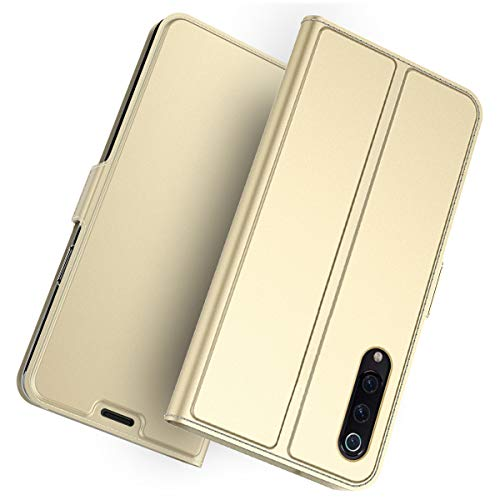 Doveno Xiaomi Mi 9 SE Case Flip Cover Cellphone Case Case Replacement for Xiaomi Mi 9 SE - Golden
