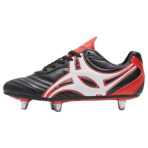 Gilbert Sidestep XV Low Cut dur Toe 6S Bottes de rugby junior