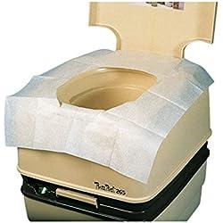 Cubreasientos WC Biodegradables adultos (4 paquetes de 10 unid/paquete)