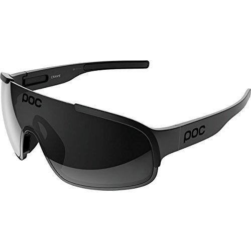 POC Crave Gafas, Unisex Adulto, Negro (Uranium Black Translucent/Grey), M