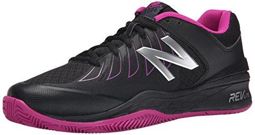 New Balance Women's WC1006v1 Black/Pink Sneaker 12 2A - Narrow Black/pink
