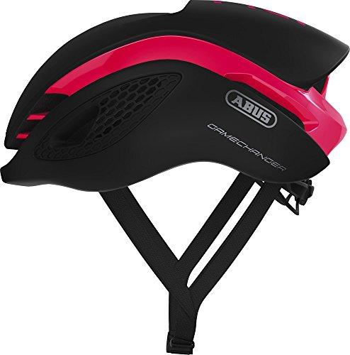 Abus Gamechanger Aero- Helm Fahrradhelm, Rosa (fuchsia pink), S (51-55 cm)