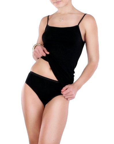Donna - Micro Modal Slip in nero, nelle taglie 38 - Slip 50 Nero