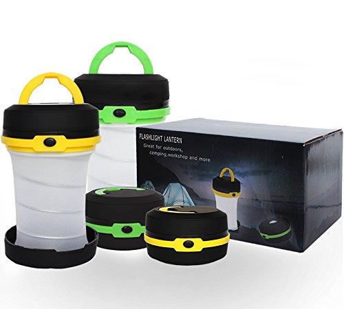 4er Camping Laterne, LT Nichalo 30LM Tragbare Notfall Wasserdicht Camping Licht Taschenlampe