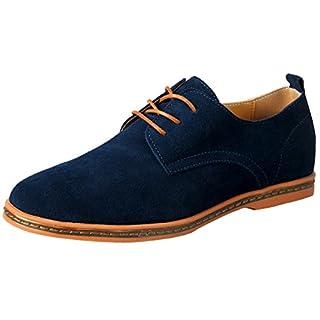Oxfords Schuhe blau Herrenschuhe 44 Schnürhalbschuhe Haferl Leder Classic Mokassins