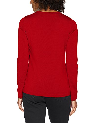 Maerz Damen Pullover 301000 Rot (Poppy Red 469)