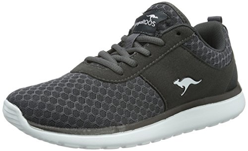 KangaROOS Damen Bumpy Sneakers,Grau(dk Grey 230),39 EU