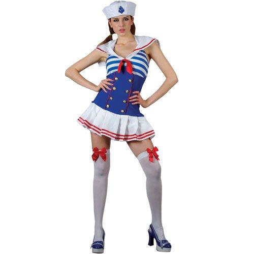 Cute Shipmate Sailor Adult Woments Fancy Dress Costume