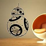 Stickers muraux Décor à la Maison Film Robot DIY 3D Vinyle Sticker Geek Gamer Amovible Murale Papier Peint Kids Room 58 * 90 cm
