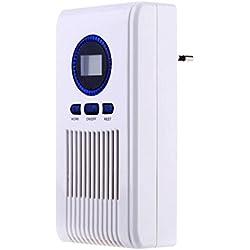 Desodorante De Baño Limpiador De Olores Máquina De Desinfección De Aire Generador De Ozono 220V 100Mg