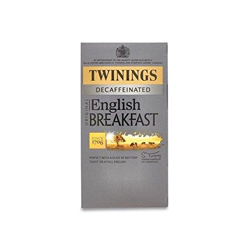Twinings Englisch Frühstück Entkoffeiniert – 20 Umschläge (Packung mit 4)