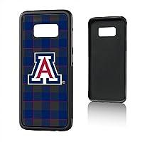 Keyscaper KBMPS8-UOFA-ZPLAD1 Arizona Wildcats Galaxy S8 Bump Case with U of A Plaid Design