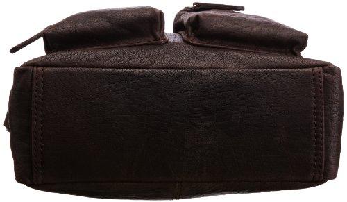 Bugatti Umhängetasche Go West, 26 cm, Cognac (Braun), 49530607 Braun