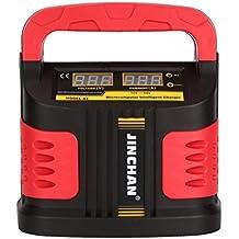 Dazone Batterie-Ladegerät Batterielader Ladegerät KFZ Motorrad Autobatterie 12 V - 24 V