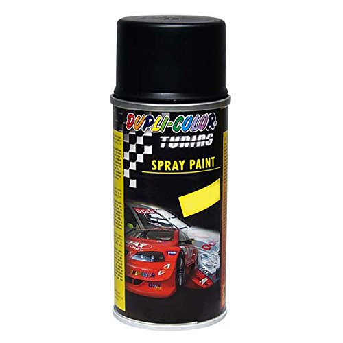 Duplicolor 132858 Spray de Tuning y Pintura Universal, Color Negro, 150 ml