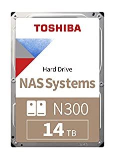 "14TB Toshiba N300, 3.5"" High-Reliability NAS HDD, SATA III - 6Gb/s, 7200rpm, 256MB Cache (B07P8J8Z48) 
