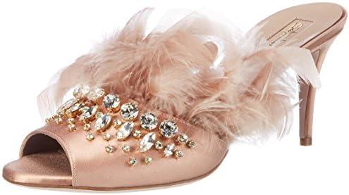 Sebastian DECOLTE' PITONE T.110 GROSSO+TARGH. S5158P - Zapatos de vestir de ante para mujer