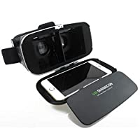 google Cardboard VR Mobile Phone 3D Glasses 3D Movies, Games With Resin Lens For 3.5 to 6 inch Phon