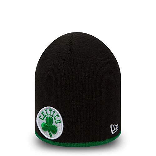 New Era - NBA Boston Celtics Team Skull Beanie OTC - Schwarz