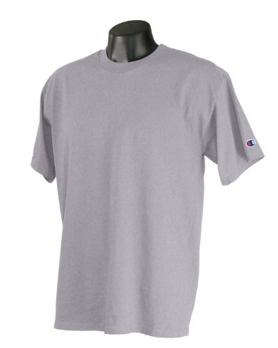 Champion -  T-shirt - Asimmetrico - Uomo chiaro acciaio